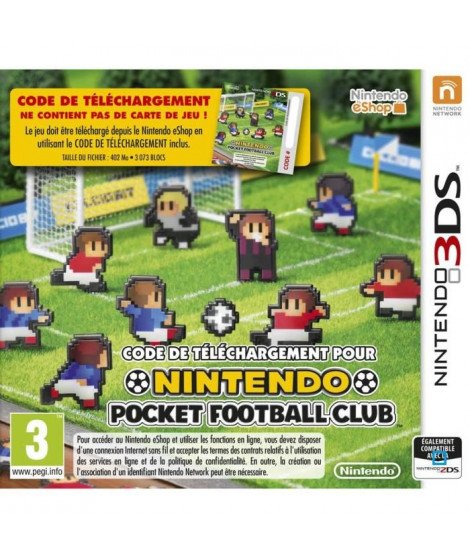 Nintendo Pocket Football Club Jeu 3DS