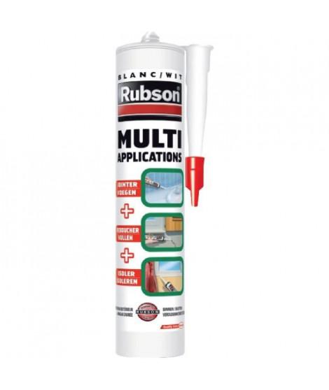 Mastic multi-usages Rubson Cartouche 280ml Blanc