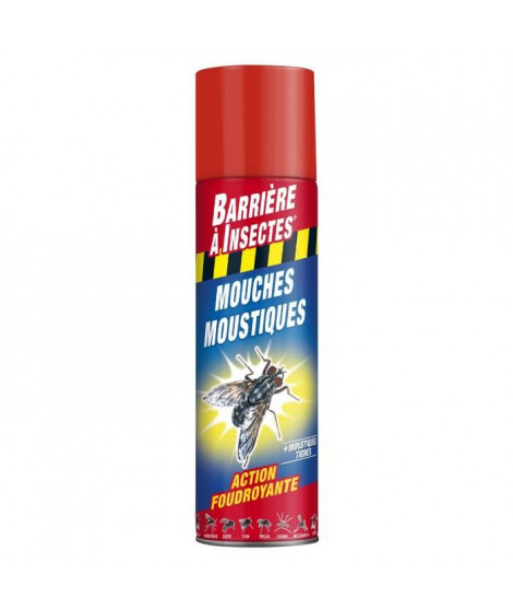 BARRIERE A INSECTES Insectes volants - Aérosol 400 ml