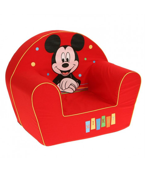 MICKEY Fauteuil rouge