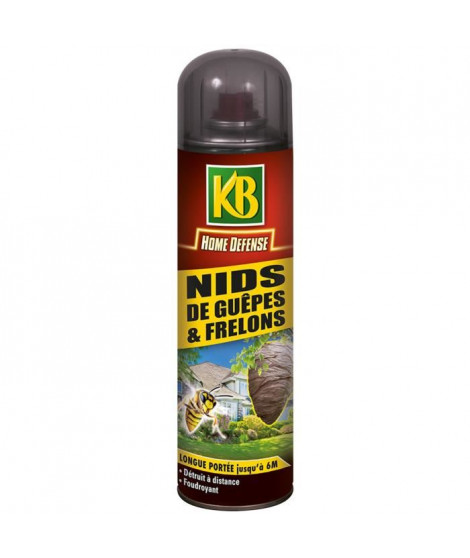 KB HOME DEFENSE  nids de guepes - 500 ml
