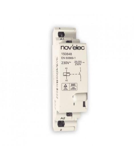Télérupteur 16A pour tableau électrique