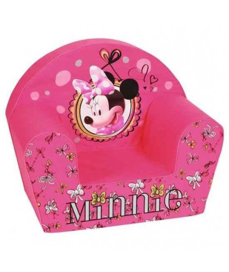 DISNEY MINNIE Fashionista Fauteuil Club Rose