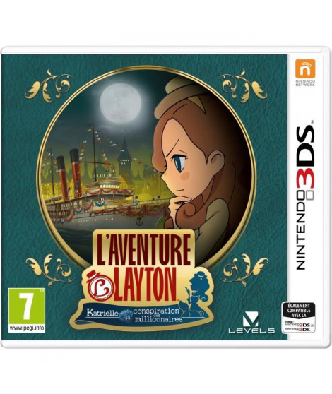 L'Aventure Layton : Katrielle et la conspiration des millionnaires - Jeu 3DS