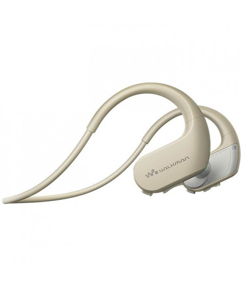 SONY NW-WS413 Lecteur MP3 - Casque sport 4 Go Creme