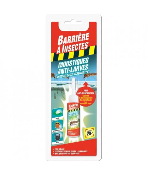 BARRIERE A INSECTES Film Anti-larves de moustiques - Spécial eaux stagnantes - 20ml