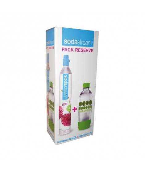 Cylindre CO2 + 1 Bouteille 1 L Sodastream