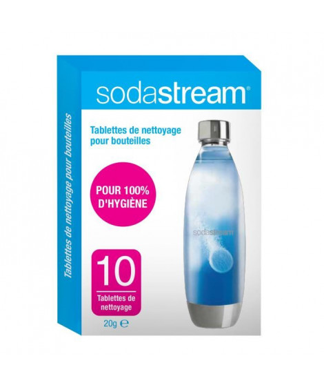 Sodastream Pastilles de nettoyage X10