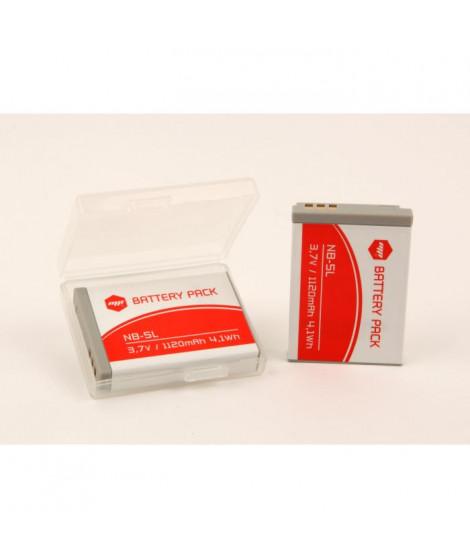 MP EXTRA  MP-PACK-BAT-NB5L  Pack de 2 batteries NB5L pour CANON