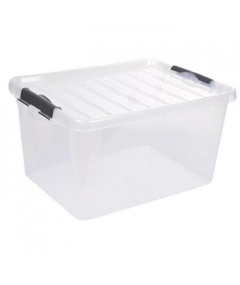 CODICO Boîte de rangement Clip Box Light 4 L 27,5x18,5x13 cm transparent