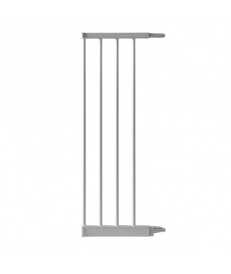ANGELCARE Extension Barriere - Métal Blanc - 24,8 cm
