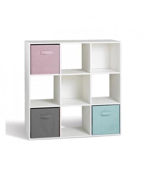 COMPO Cube 9 cases  Blanc 91 x 91cm