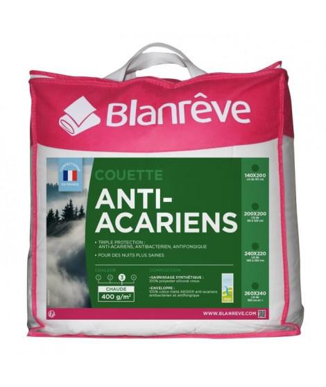 BLANREVE Couette Anti-Acarien 400gm2 200x200cm