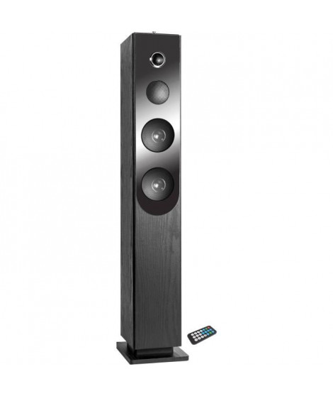 INOVALLEY HP33-CD Tour de son Bluetooth - Lecteur CD - Noir