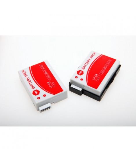 MP EXTRA Pack de 2 batteries LPE8 pour CANON