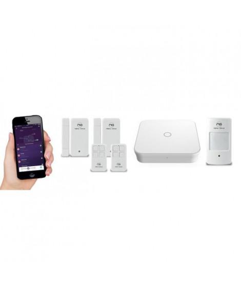 NEW DEAL Pack Alarme maison WIFI / LAN /GSM Live Pro-L15 sans fil connectée avec batterie et sirene