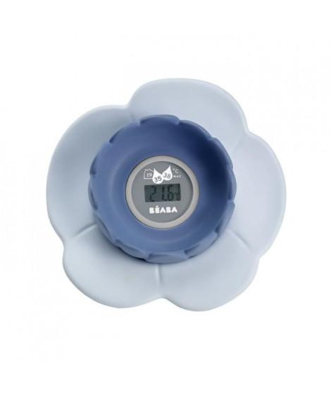 "Béaba Thermometre de bain ""Lotus"" grey/blue"