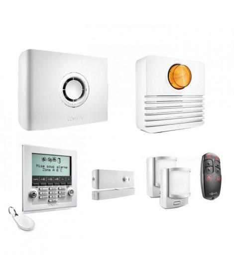 SOMFY Pack alarme maison Protexiom Ultimate GSM connectée sans fil compatible animaux
