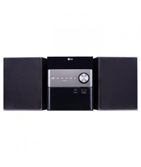 LG CM1560 - Micro Chaîne HiFi Bluetooth USB 10W - Noir