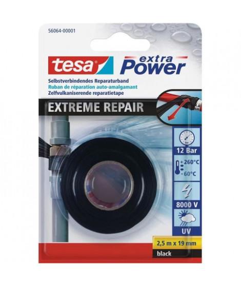 "TESA Joint Auto Amalgamant ""Silicone"" - 2,5m x 19mm - Noir"
