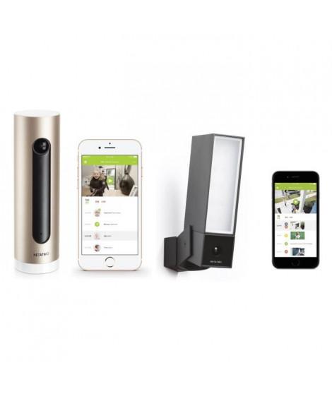 NETATMO Pack Caméras de surveillance extérieur IP HD Presence et a reconnaissance faciale Welcome
