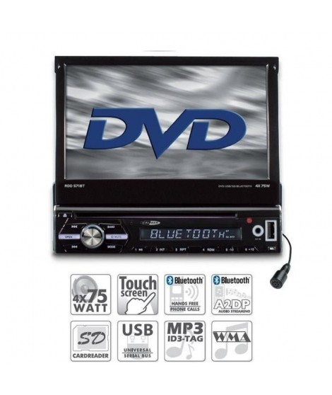 CALIBER RDD571BT Autoradio DVD / USB / SD / Bluetooth
