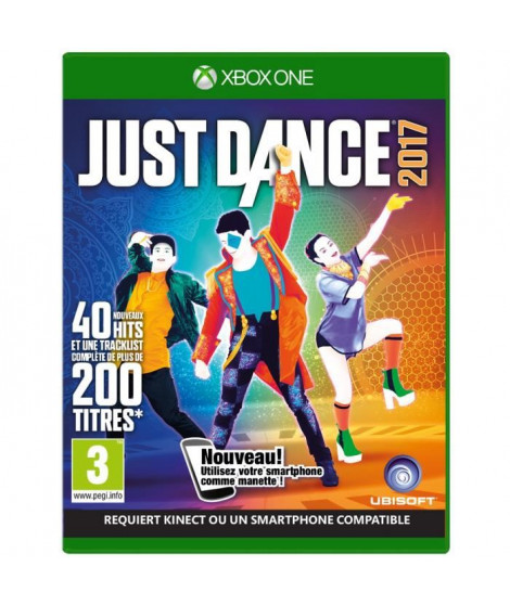 Just Dance 2017 Jeu Xbox One