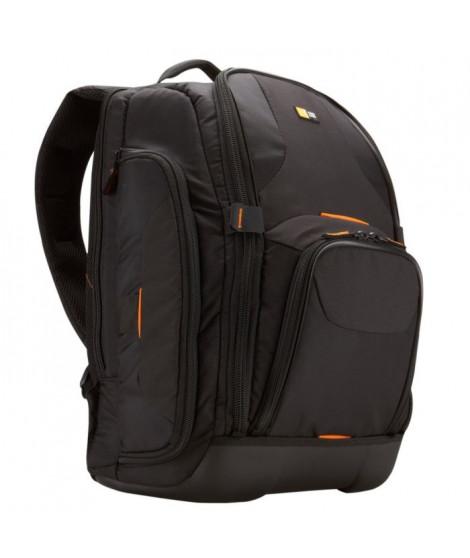 Case Logic SLRC206 Sac a dos semi-rigide et nylon noir pour Réflex et nombreux objectifs et accesoires