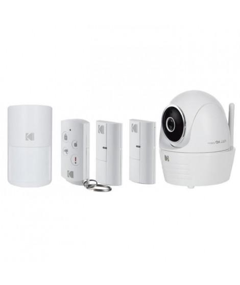 KODAK Caméra de surveillance Full HD motorisée avec alarme IP101WG Premium Kit
