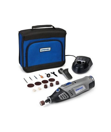 DREMEL Mini outil 8100 Li-ion + 15 accessoires