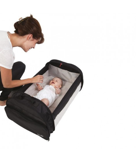 BABY SUN Simple Bed Couffin Nomade Noir