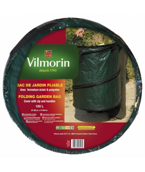 VILMORIN Sac de jardin pliable - 100 L