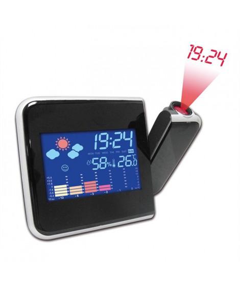 Inovalley RPM11 Station météo Réveil Projecteur