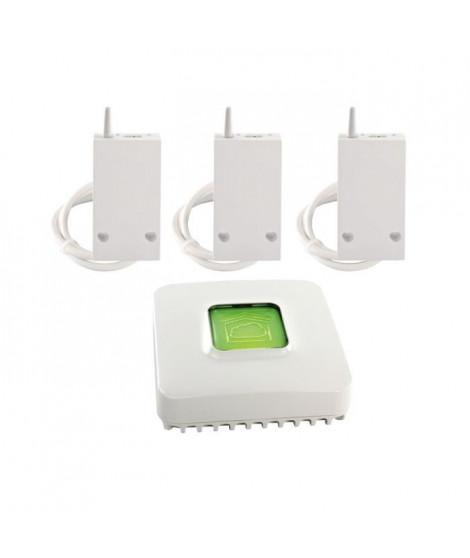 DELTA DORE Pack Chauffage connecté avec 3 récepteurs RF 6600 FP