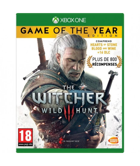 The Witcher 3 : Wild Hunt Goty Edition Jeu Xbox One