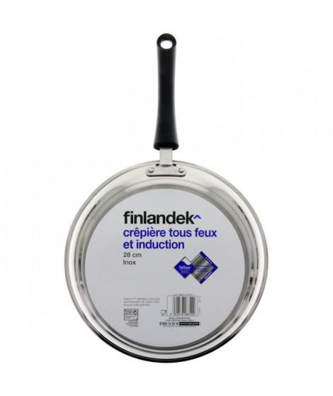 FINLANDEK Crepiere en inox 28 cm
