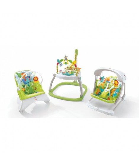 FISHER PRICE Balancelle Compacte 2 En 1