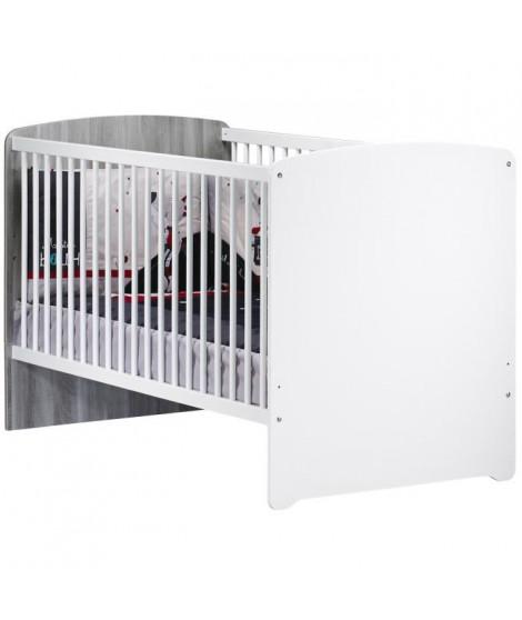 BABYPRICE Lit bébé évolutif Little Big Bed 140x70 cm - NAO