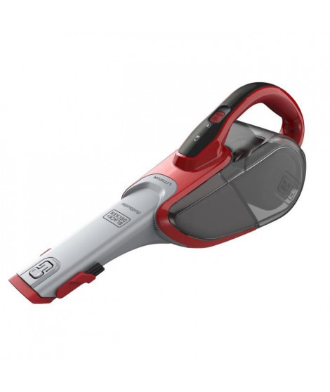 BLACK+DECKER DVJ315J-QW Aspirateur a main sans sac ? 10.8V ? 500 ml