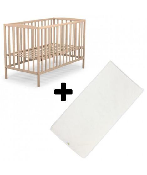 Pack Lit 60x120 cm et Matelas bébé