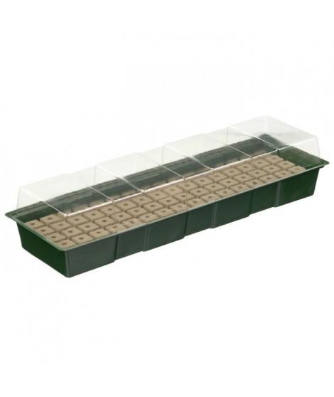 NATURE Mini-serre de culture hydroponique 4 X 16 alvéoles