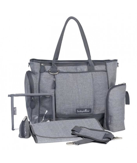 BABYMOOV Sac a Langer Essential Bag Smokey