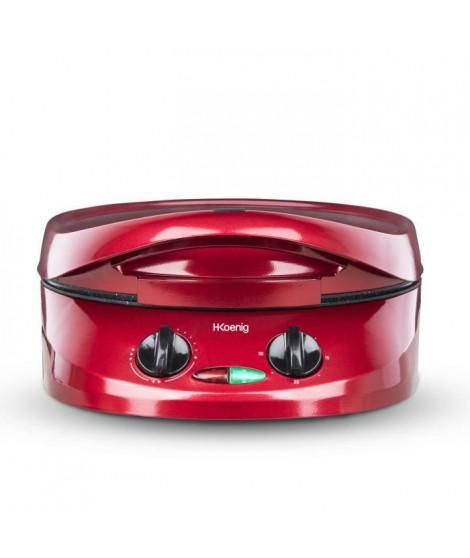 H.KoeNIG TRT180 Four a tarte multifonction Tart Express - Rouge
