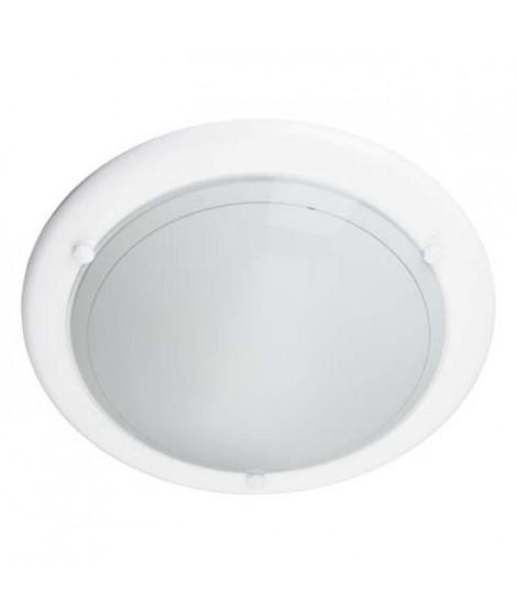 BRILLANT Applique ou plafonnier Miramar E27 40 W blanc