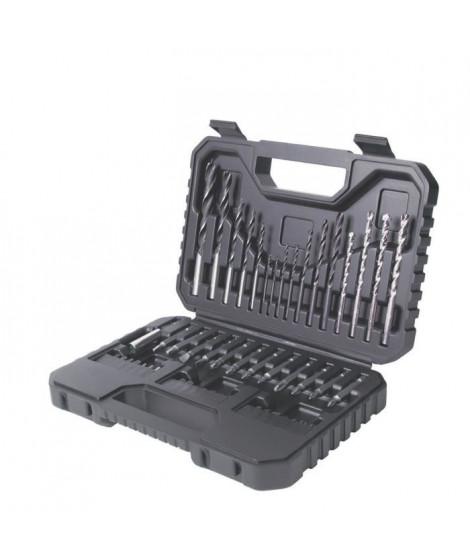 BLACK & DECKER Coffret d'outils de perçage vissage 50 pieces