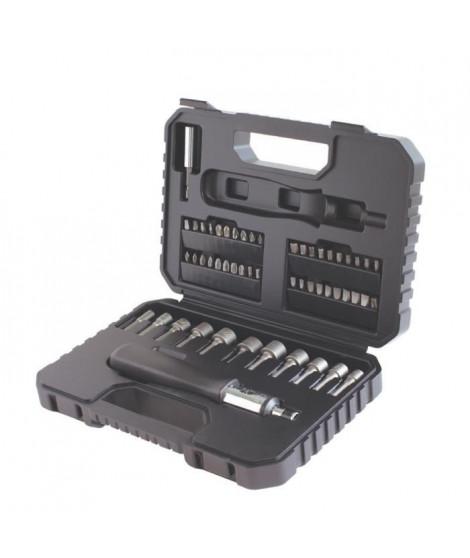 BLACK & DECKER Coffret d'outils de perçage et vissage 53 pieces