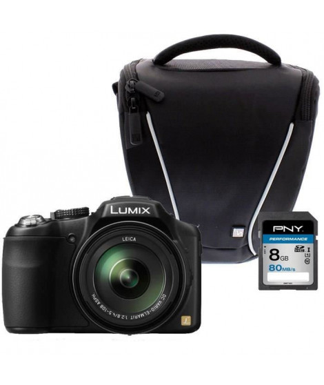 Panasonic FZ200 + Sacoche + Carte 8 Go - Appareil photo Bridge