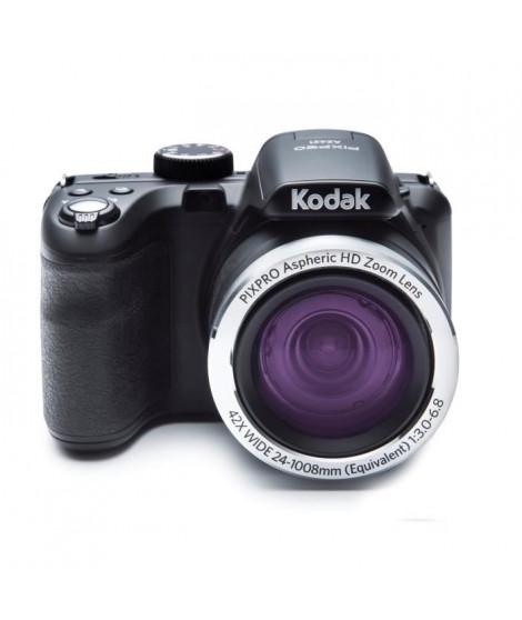 """KODAK AZ421 Appareil photo numérique - Zoom optique 42x - Grand angle 24 mm - Ecran 3"""" LCD - 16 MP - Noir"""
