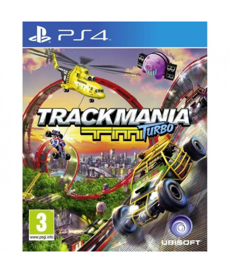 TrackMania Turbo Jeu PS4