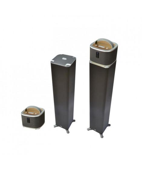 DUAL DL-I-TWO Caisson de basse + enceinte WIFI / Bluetooth détachable - 30W RMS